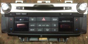 Магнитола с европейского Lexus GS IV 2012-2015