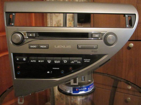 Медиаплеер для Lexus RX 3 рестайл 2012-2015