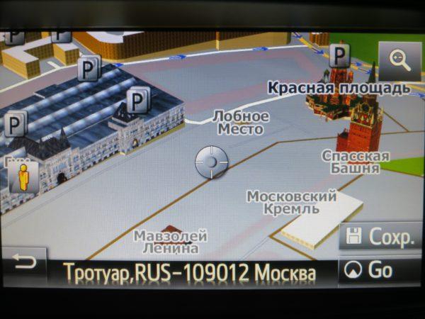 дооснащения навигацией Toyota