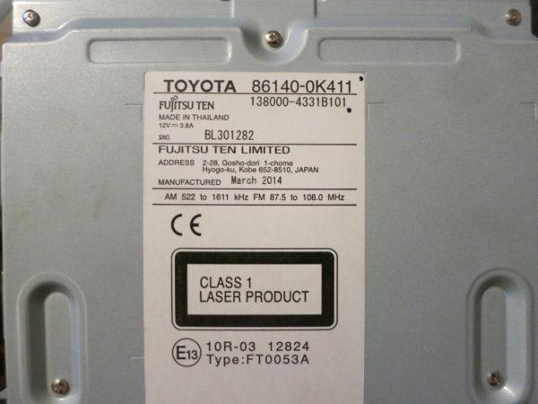 Магнитола Тойота Hilux 2014-2016