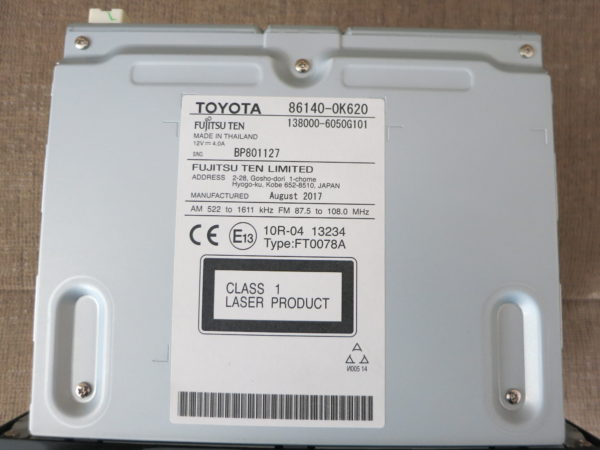 Магнитола для Toyota Hilux 2016-Н.В.