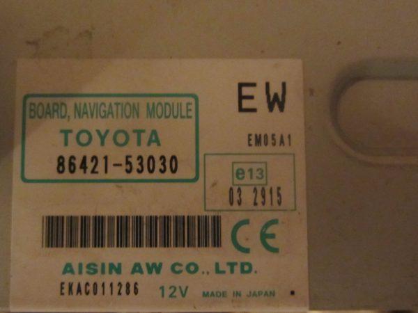 Блок системы навигации Лексус LX, GS, LS, IS