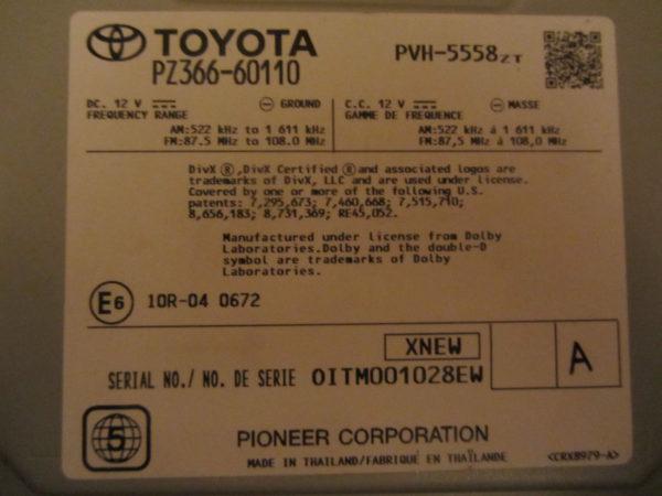 Магнитола Тойота Land Cruiser 200 рестайл II 2015-Н.В.