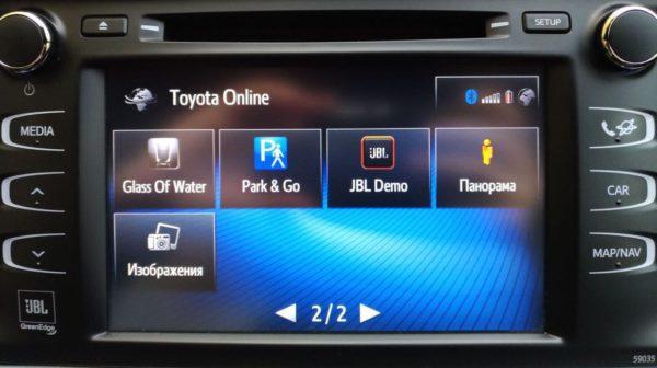 Оригинальные блоки дооснащения навигацией Toyota