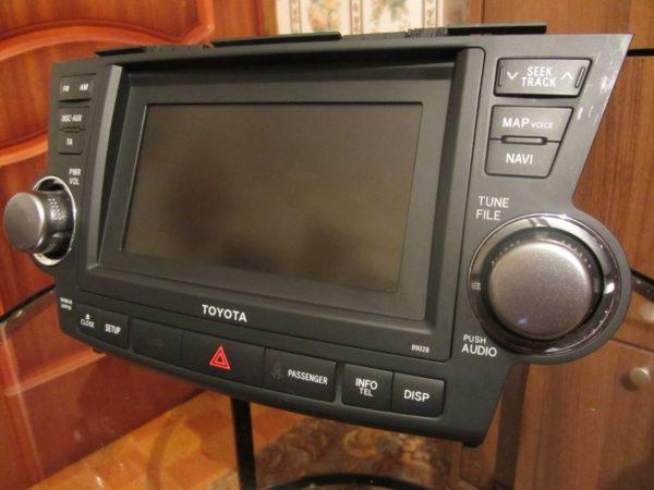 Магнитола для Toyota Highlander II рестайл 2010-2013