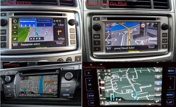 Touch & Go, Touch & Go +, Touch 2 with Go и Touch 2 Go +