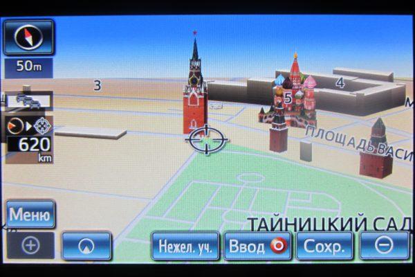 Поколение 7 (Gen 7) обновление карт навигации Тойота Lexus