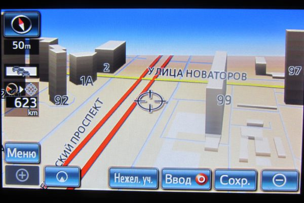 Поколение 7 (Gen 7) карты навигации Toyota&Лексус
