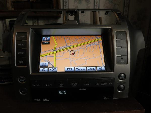 Дисплей Lexus GX 2009-2013