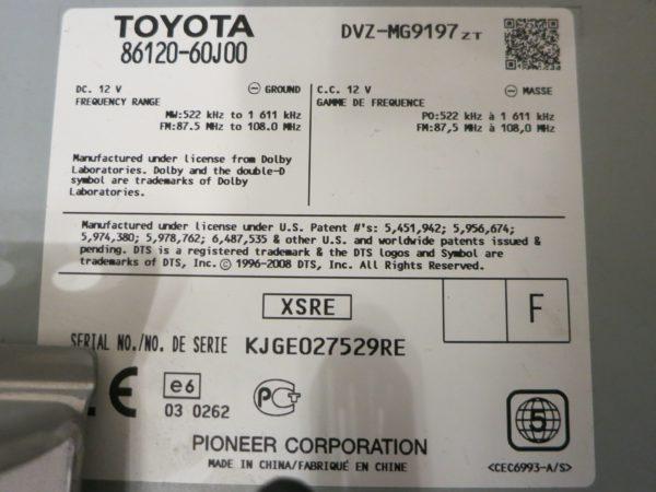 Магнитола Toyota Land Cruiser 200 2009-2011