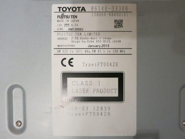 Магнитола Lexus ES VI рестайл 2014